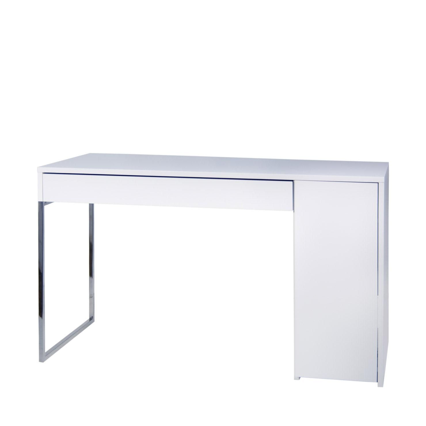 Temahome Bureau dedans temahome prado home office desk, pure white | achica | furniture