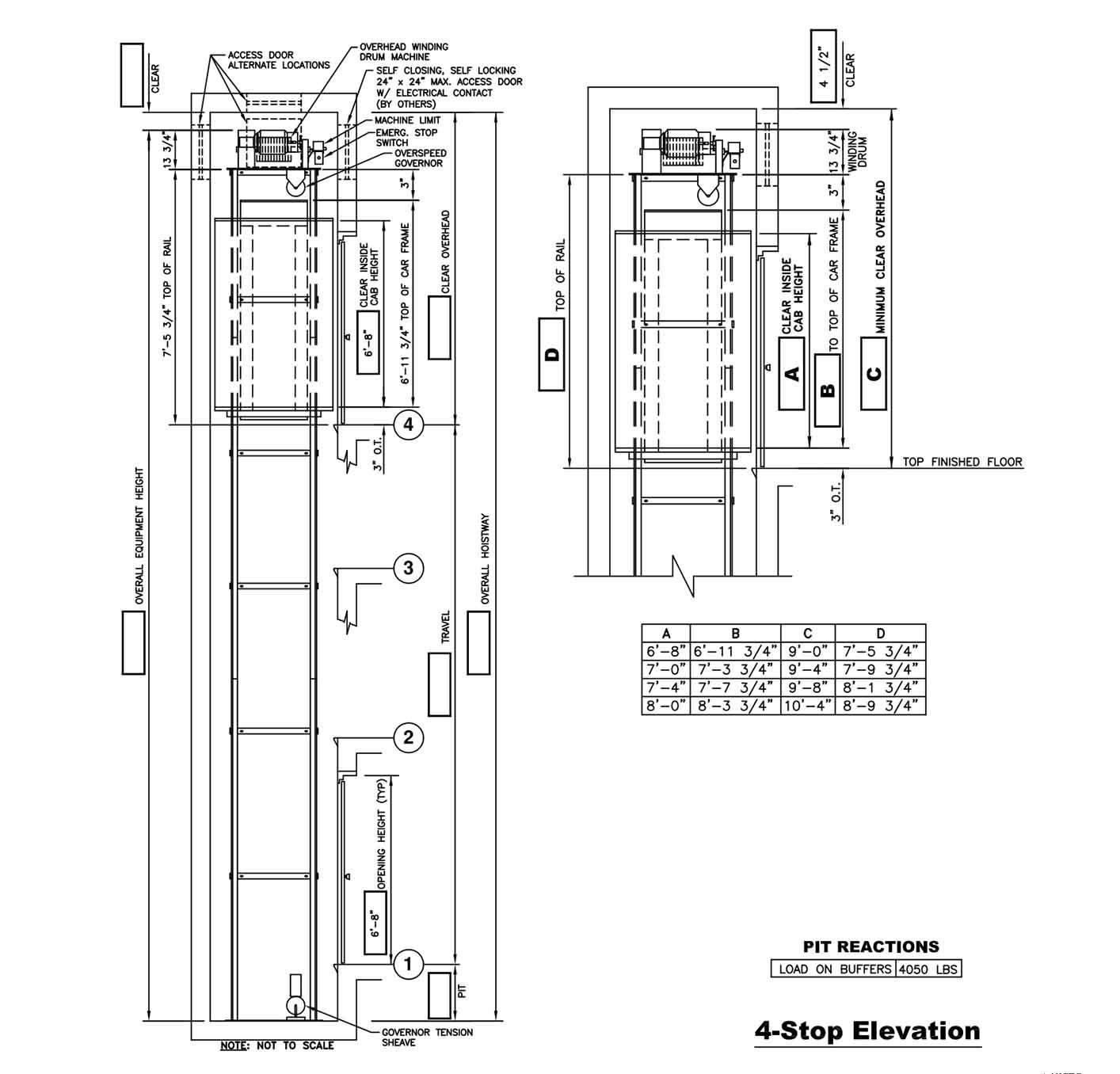 medium resolution of cable drive drawings custom elevator elevator house elevation roronoa zoro crossword