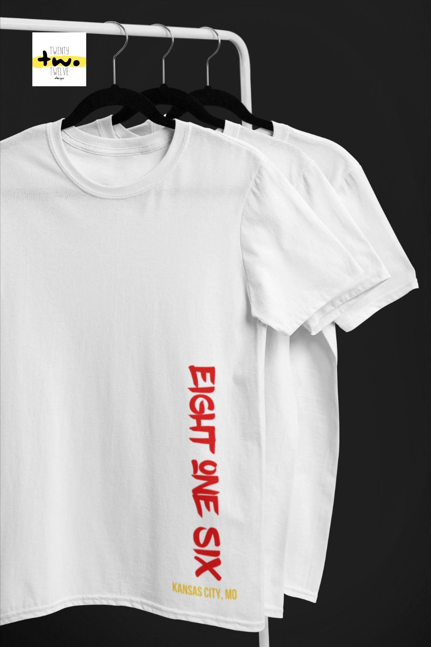 Chiefs Area Code Shirt, Kansas City Missouri Area Code