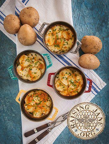 Today S Recipe Sour Cream Chive Scalloped Potatoes Potato Side Dishes Scalloped Potatoes Yummy Side Dish