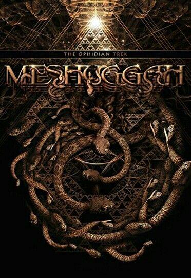 Meshuggah The Ophidian Trek 2014 Heavy Metal Art Heavy Metal Bands Metal Music