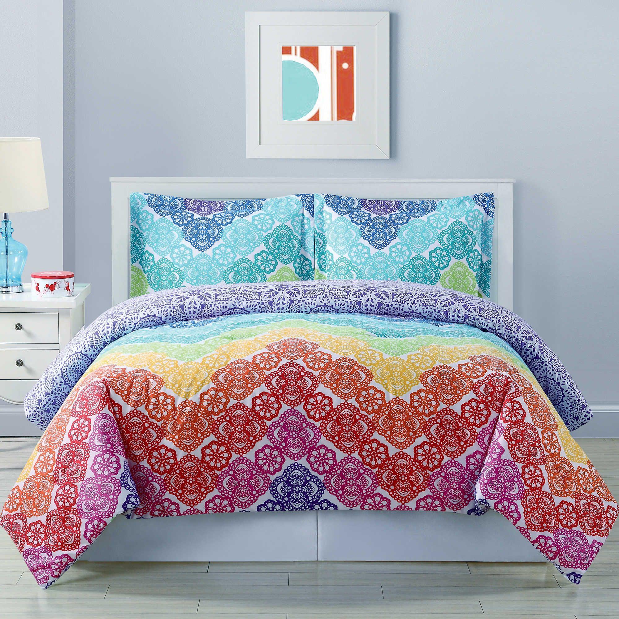 set grey bedding zig collection chevron zag chezmoi home queen comforter kitchen amazon piece com dp