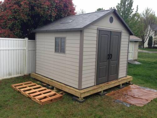 northern virginia storage shed installation