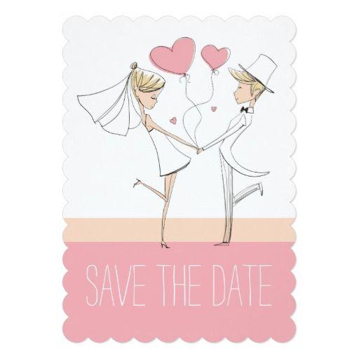 Wedding Couple Cute Elegant Illustration