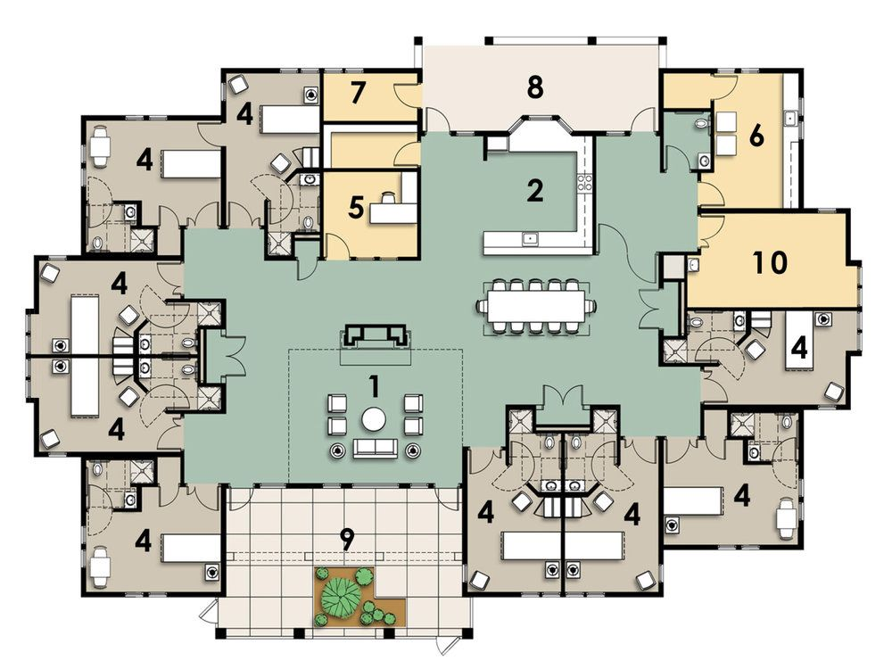 Image Result For Greenhouse Project Senior Housing News Greenhouse Floor Plans Projects