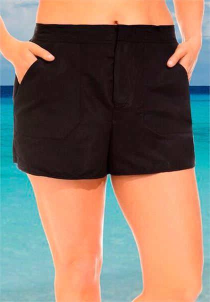 3ec6105ced925 Cargo swim shorts | Plus Size Separates | Woman Within | Swimsuit ...