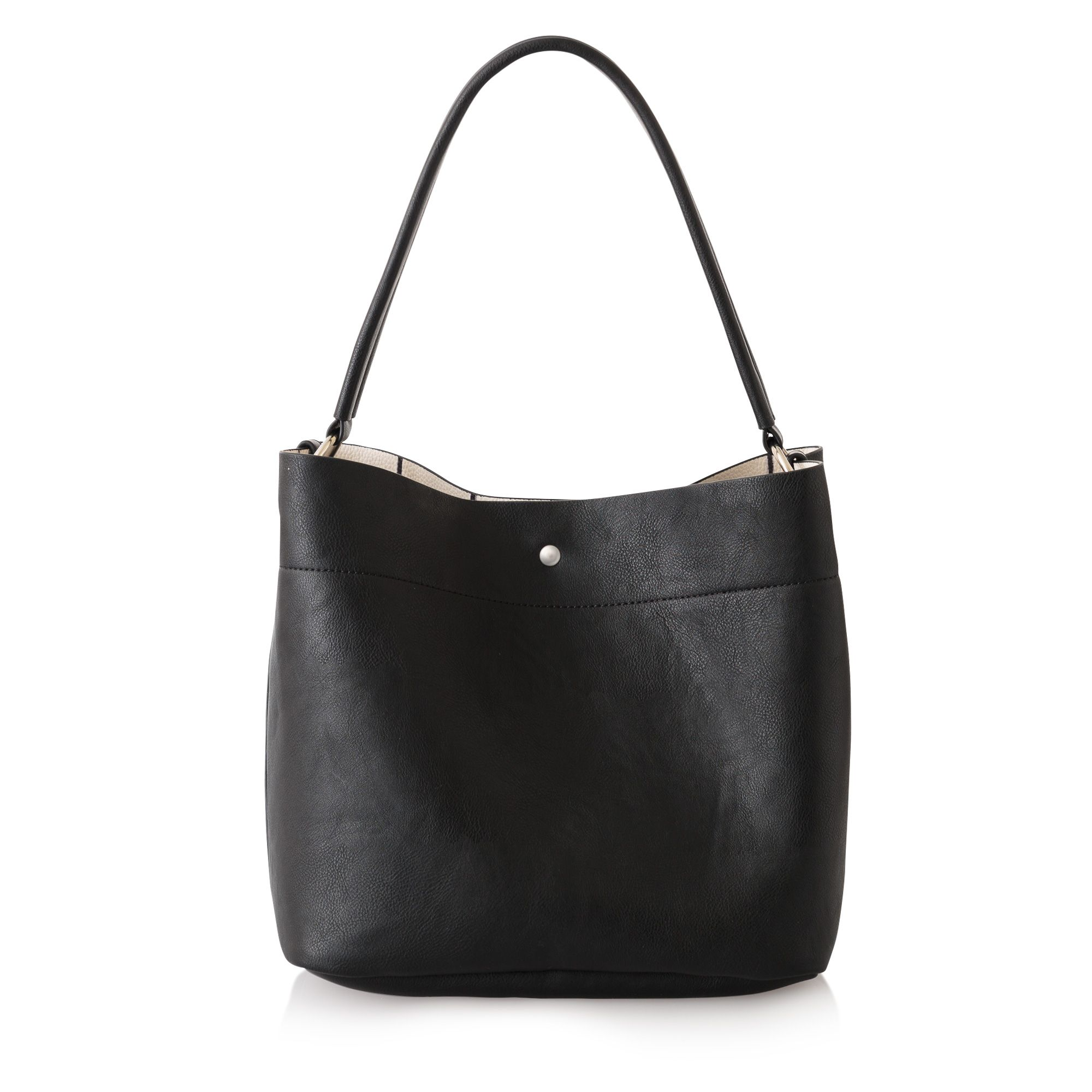 Buy the Black Hobo Slouch Bag at Oliver Bonas. Enjoy free ...