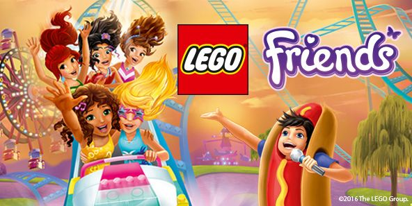LEGO® Friends™ Amusement Park Tour - LEGO.com   LEGO Friends ...