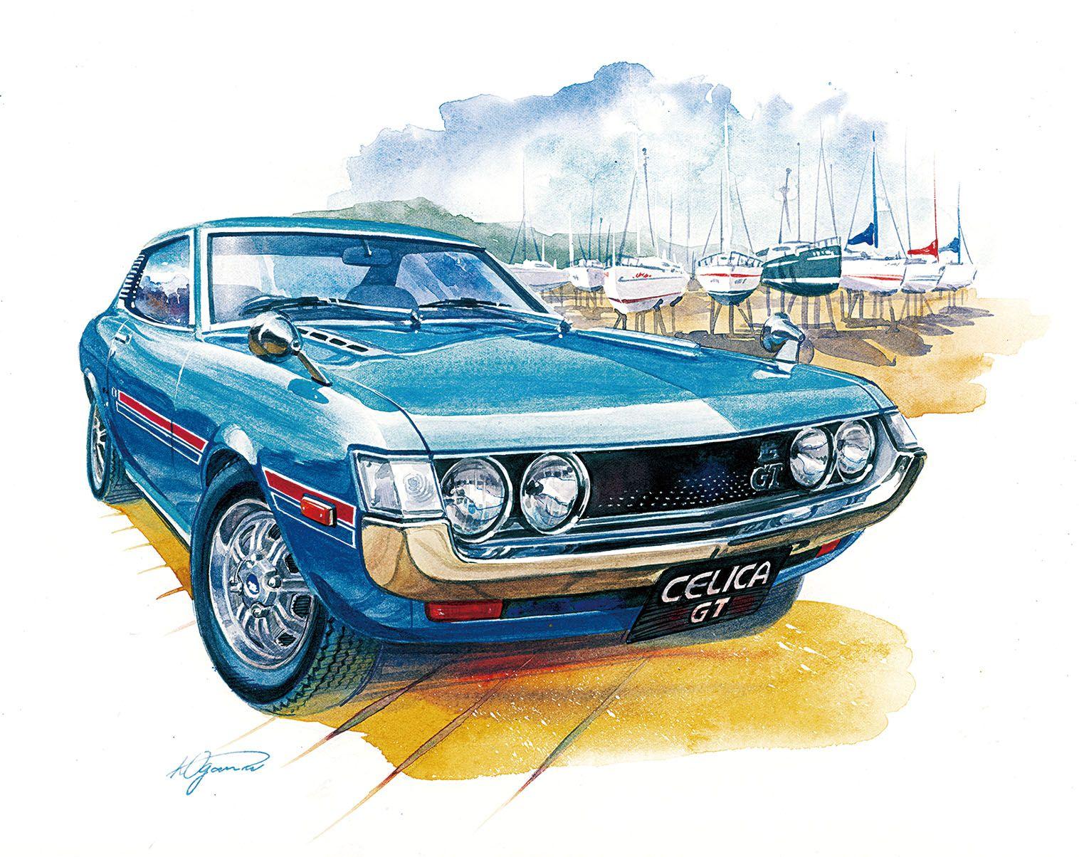 Automobile Illustration おしゃれまとめの人気アイデア Pinterest Kazumi Ogawa 車 絵 レトロ自転車 レトロカー