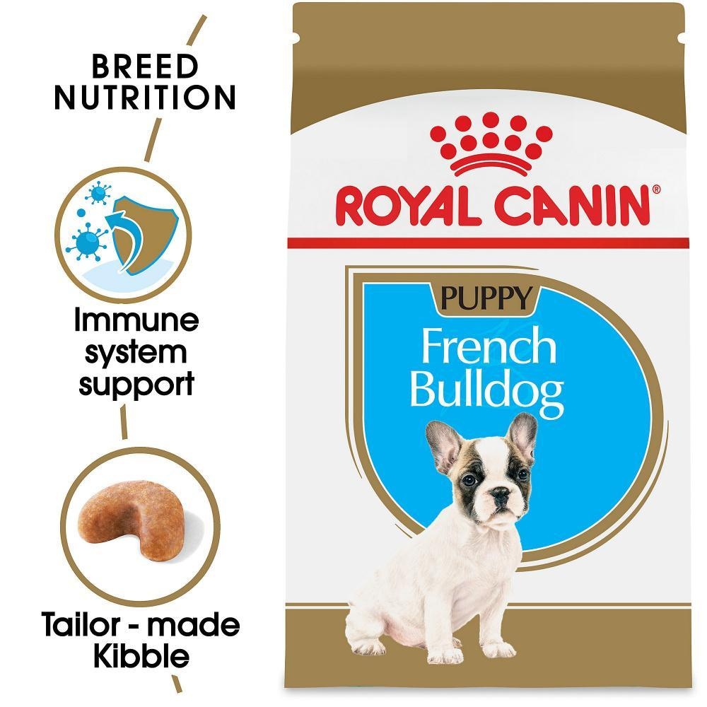 Royal Canin Breed Health Nutrition French Bulldog Puppy Recipe Dry