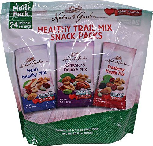 Natures Garden Variety Healthy Trail Mix Snack Pack 24ct Visit The Image Link More Details Note Amazon Affiliate Trail Mix Snack Snacks Healthy Trail Mix