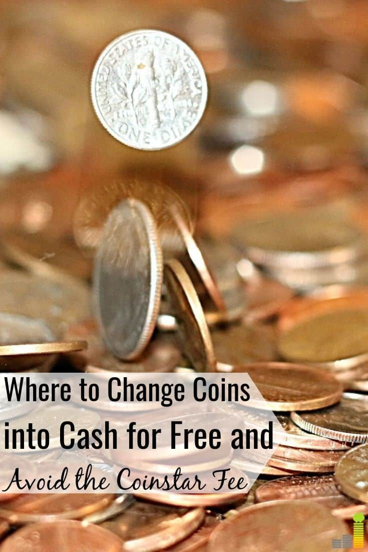 where can i change coins for cash near me