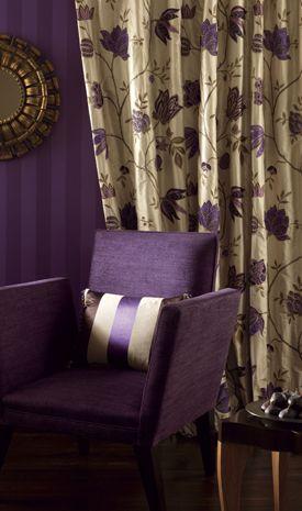 Glamorous silks of exotic inspiration  ~ Osborne & Little
