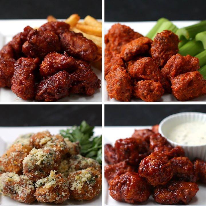 Cuatro maneras de preparar bocaditos de pollo dinner for Maneras de preparar pollo