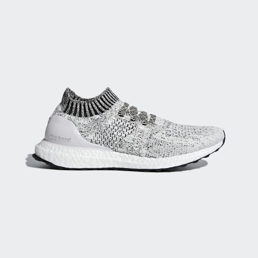 Ultraboost Uncaged Shoes Aero Green Orchid Tint Cloud