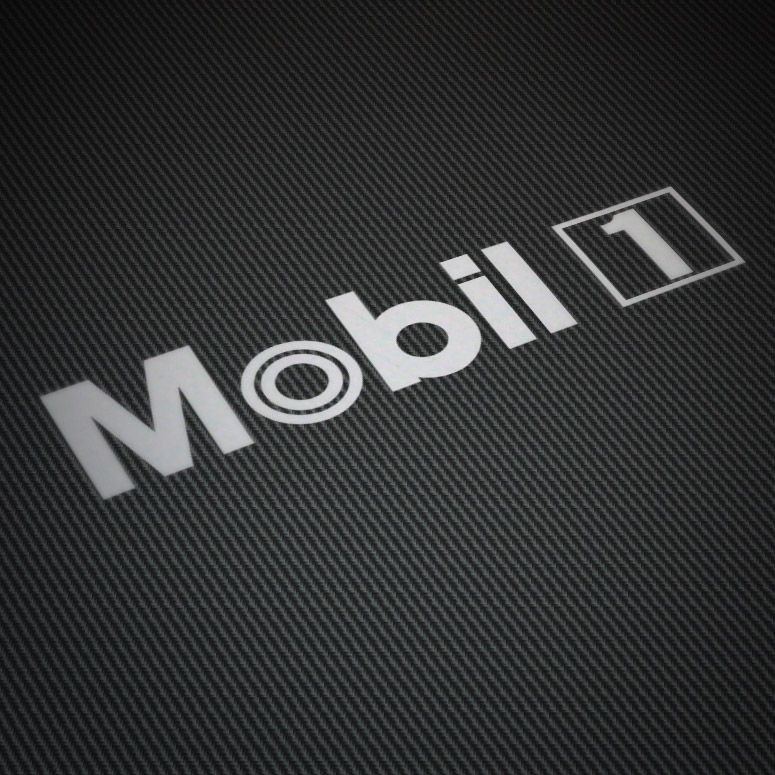 Car and motorbike stickers mobil 1 2