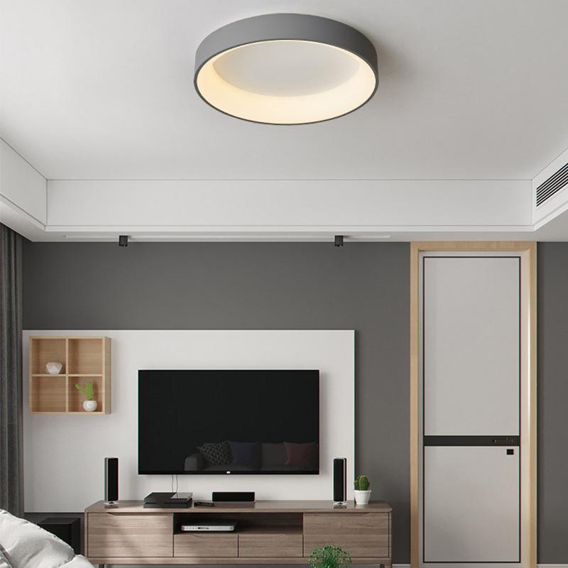 Led Deckenleuchte Modern In Rund Oder Eckig Fur Wohnzimmer