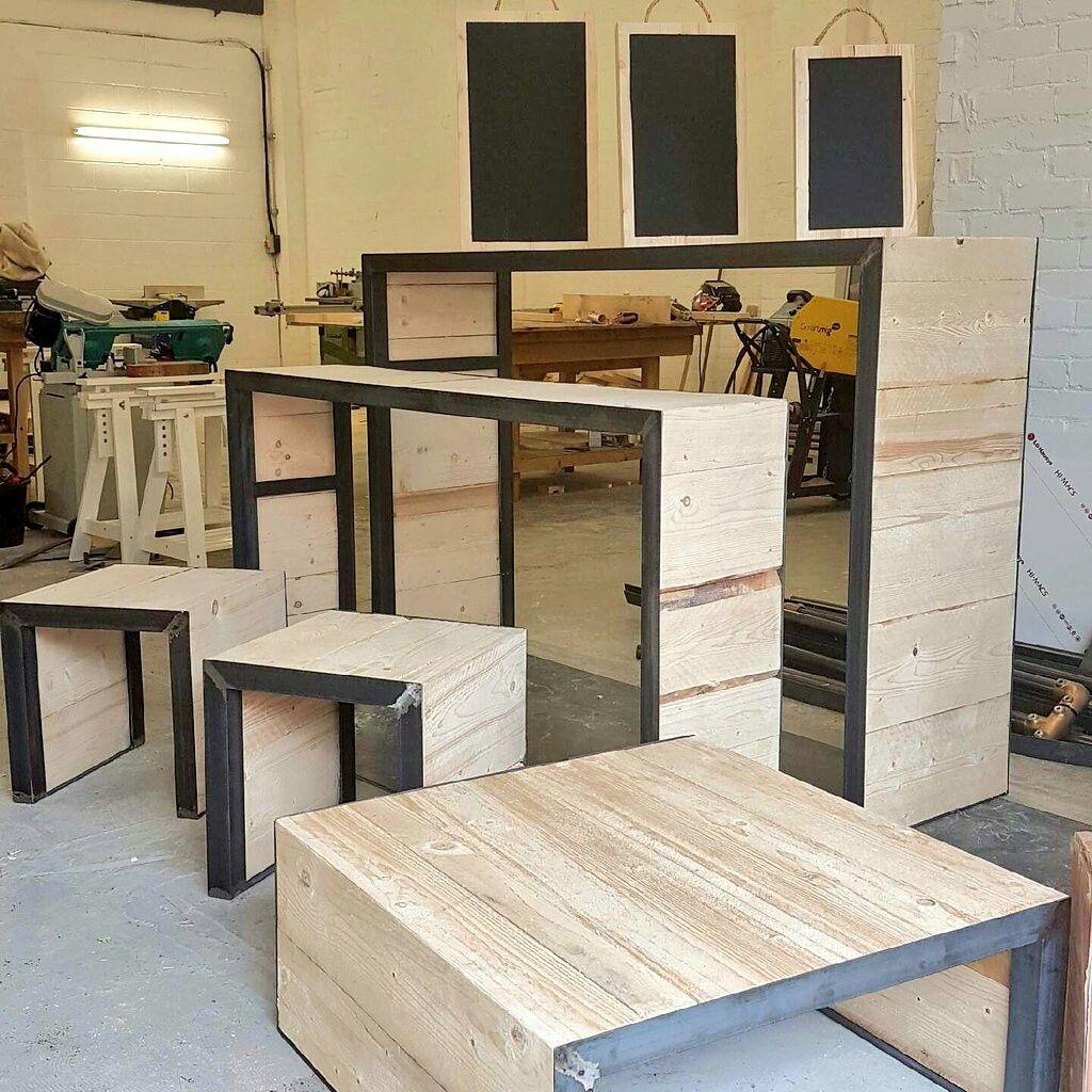 Gentil Handmade Custom Tables Designed For A Restaurant In Manchester