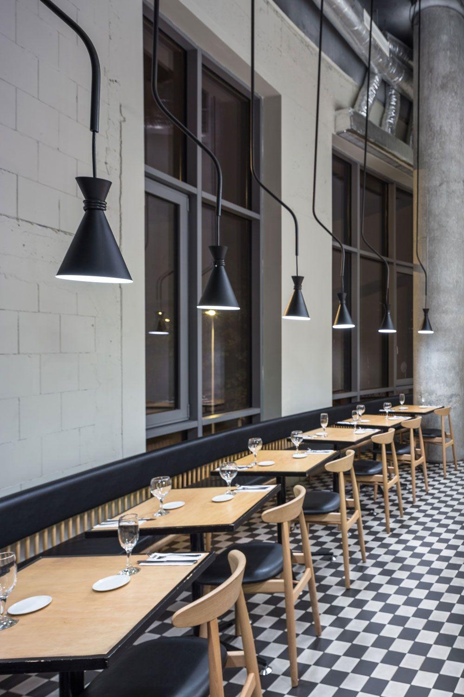 di café delibuck studio   oval table, mid century design and