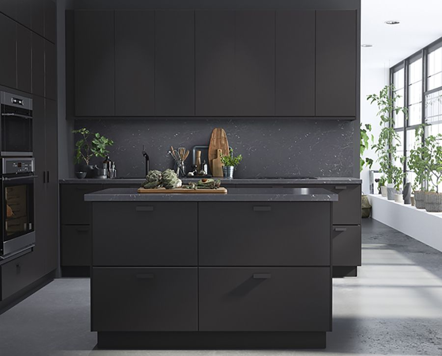 Fantastisch Preciously Me Blog : Ikea 2017 New Collection. Kungsbacka Matte Black  Kicthen Made From Recycled Bottles
