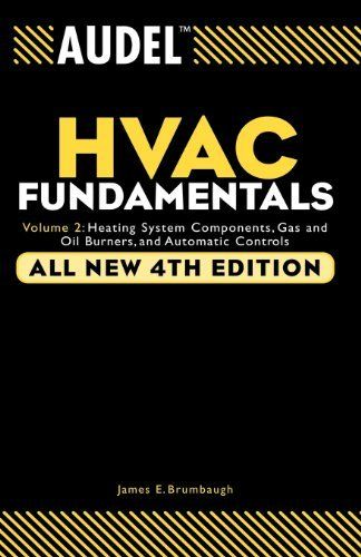 Audel Hvac Fundamentals Heating System Components Gas And Oil