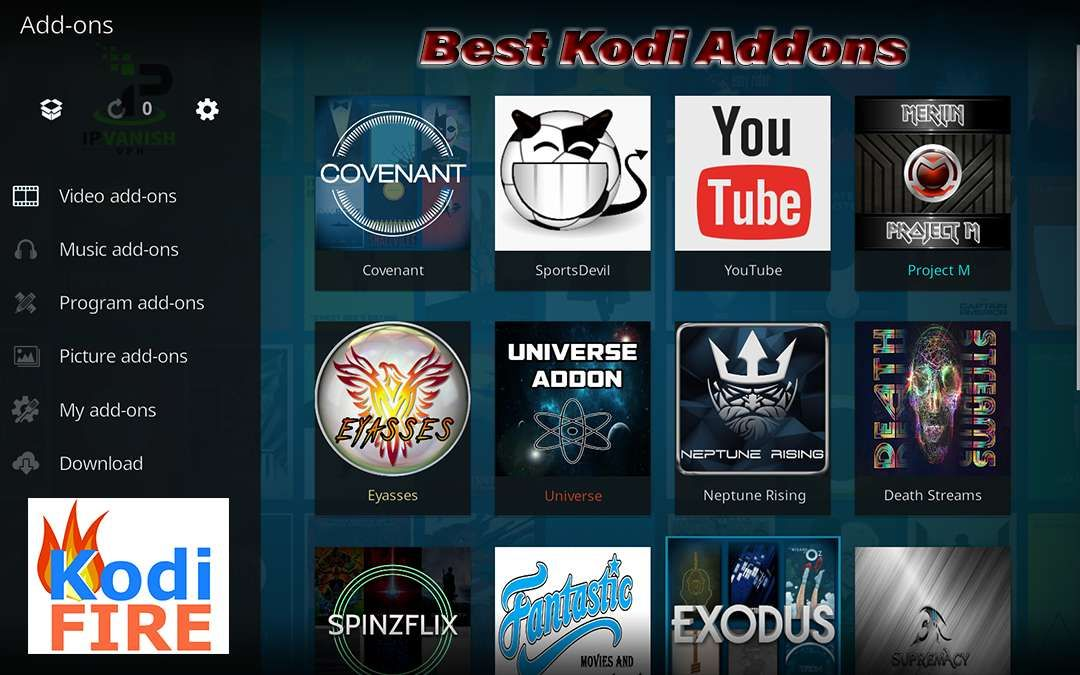 Top Best Kodi Addons Streaming Video Updated January 2018