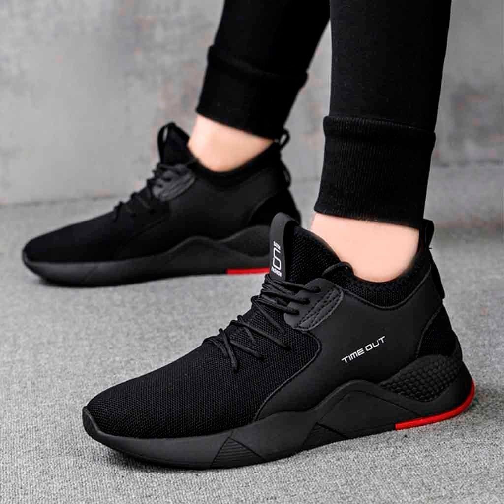 Men Casual Shoes, Men's Sneakers Flats