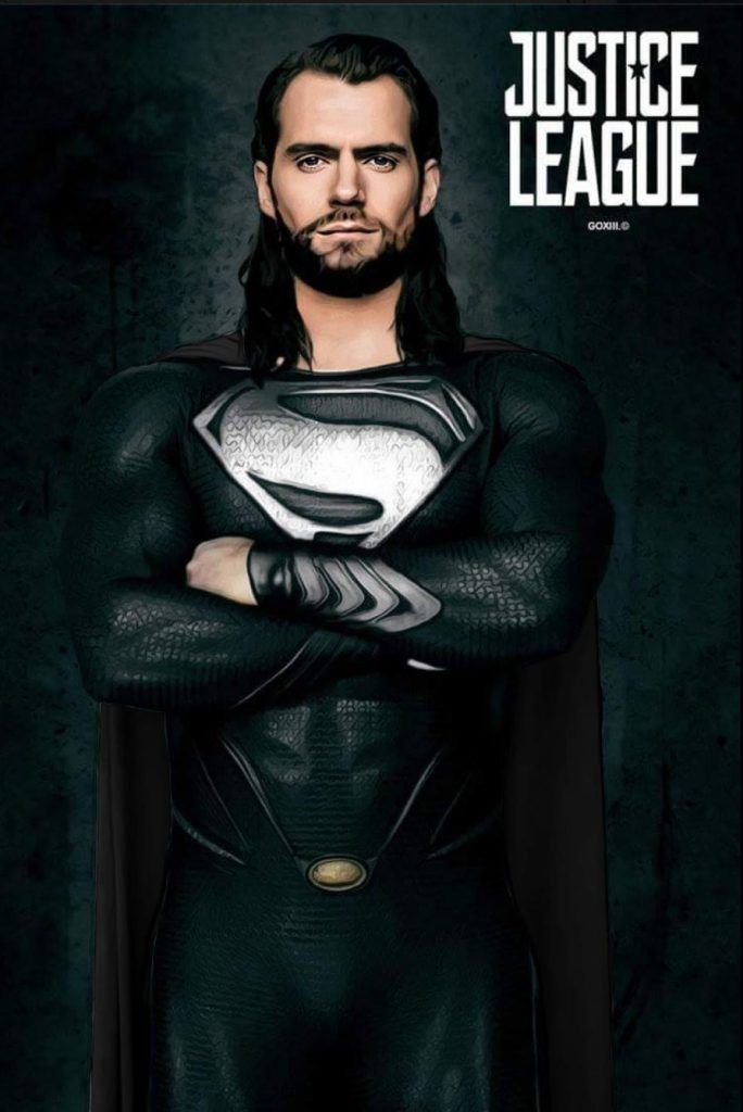 Superman In Justice League As The Kryptonian Villain Superman Superman Henry Cavill Dc Superheroes