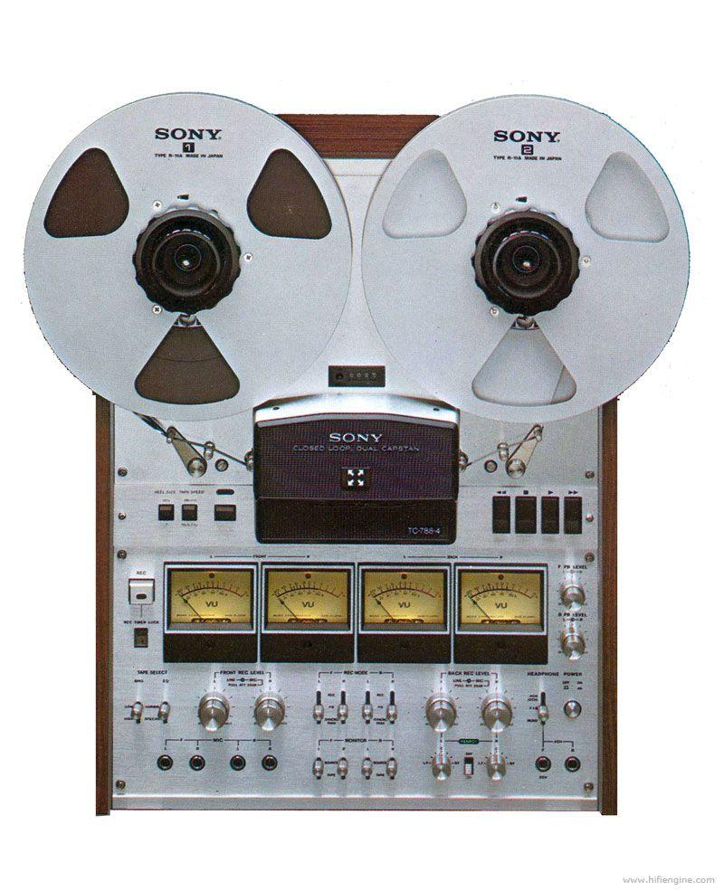 sony tc-788-4 stereo tape deck - www.remix-numerisation.fr - Rendez vos souvenirs durables ! - Sauvegarde - Transfert - Copie - Restauration de bande magnétique Audio
