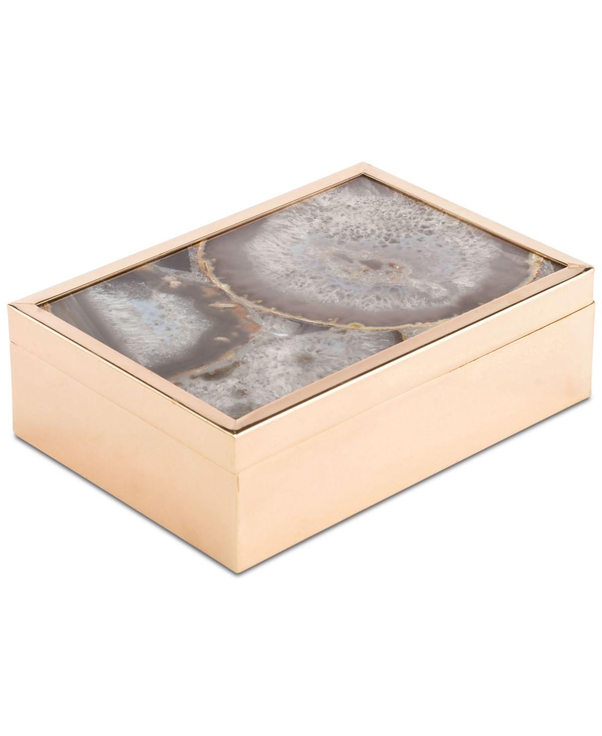 Zuo White Stone Large Decorative Box Reviews Macy S