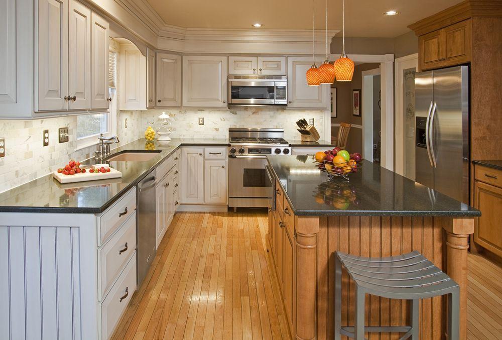 Maximieren Sie Ihre Küche Umgestalten Budget Mit Küchenschrank Refacing  #holz #weißesküchendesign #küchendesign2014 #
