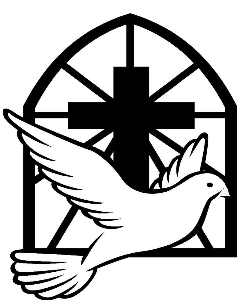 Dove and cross images cross with dove catholic confirmation