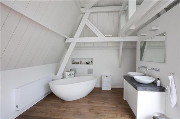 Toekomst van de zolder ;o) - badkamer op zolder | Pinterest - De ...