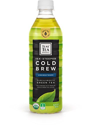 Teas Tea Organic Cold Brew Unsweetened Green Tea Pack Of 12 Organic Zero Calories No Sugars No Artificial Sweeteners Green Tea Cold Brew Organic Almond Milk