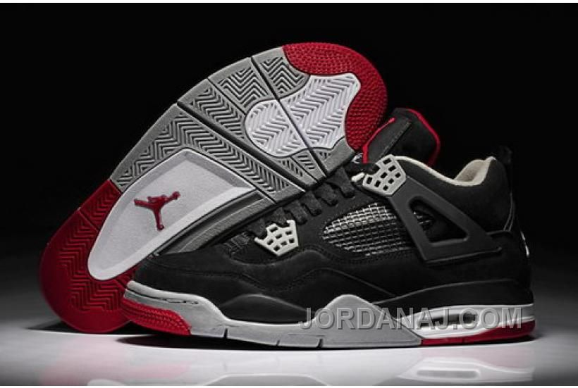 4e8f902c452b0d ... czech jordanaj promo code for new release air jordan iv 4 mens shoes  black red.