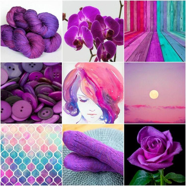 It is an image of Massif Tanis Fiber Arts Purple Label Cashmere