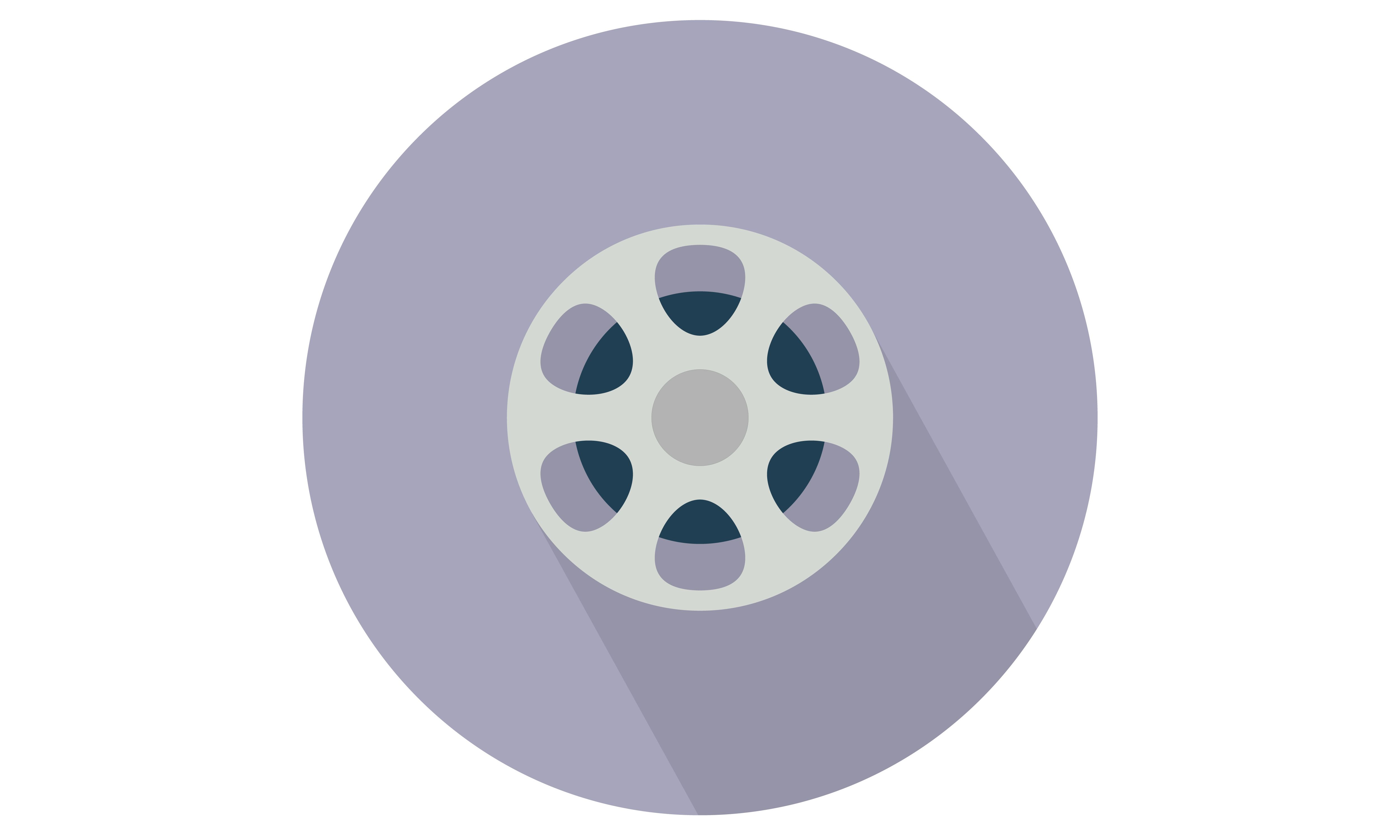 Film / Movie Reel Vector icon. From Our Range of vector