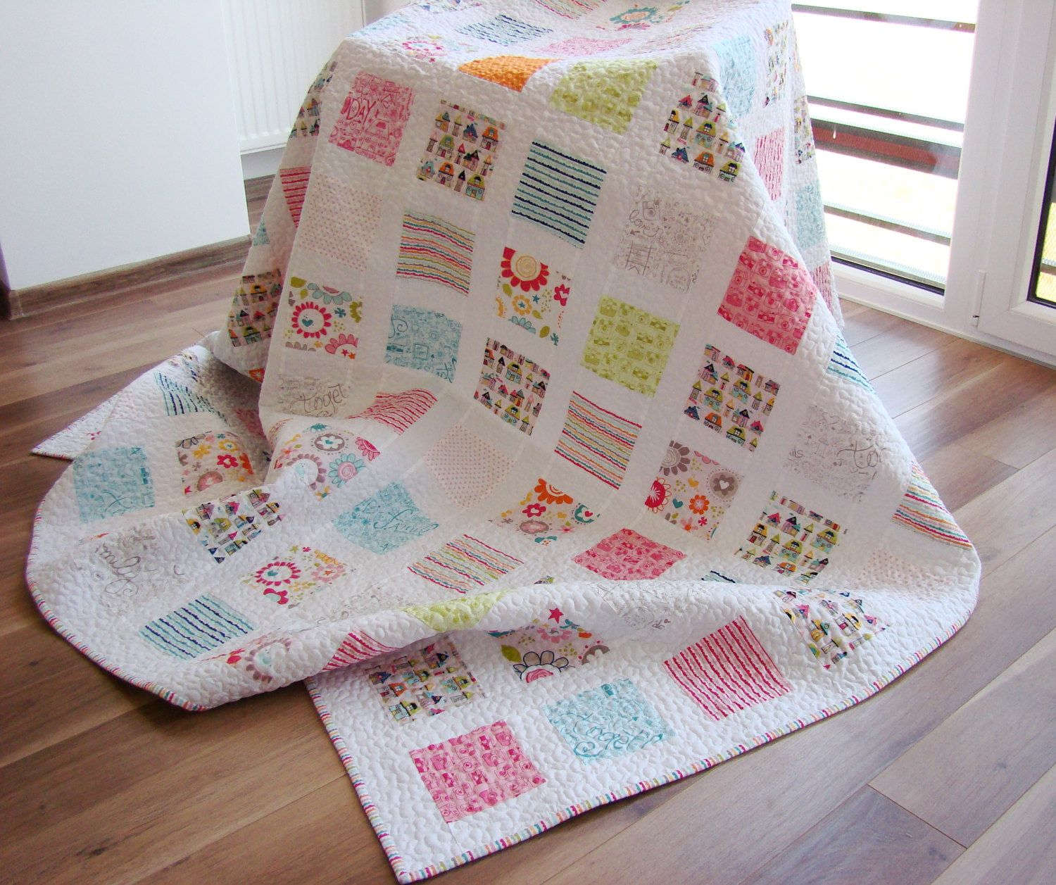 Image result for modern white swedish quilts   quilting   Pinterest : modern bedroom quilts - Adamdwight.com