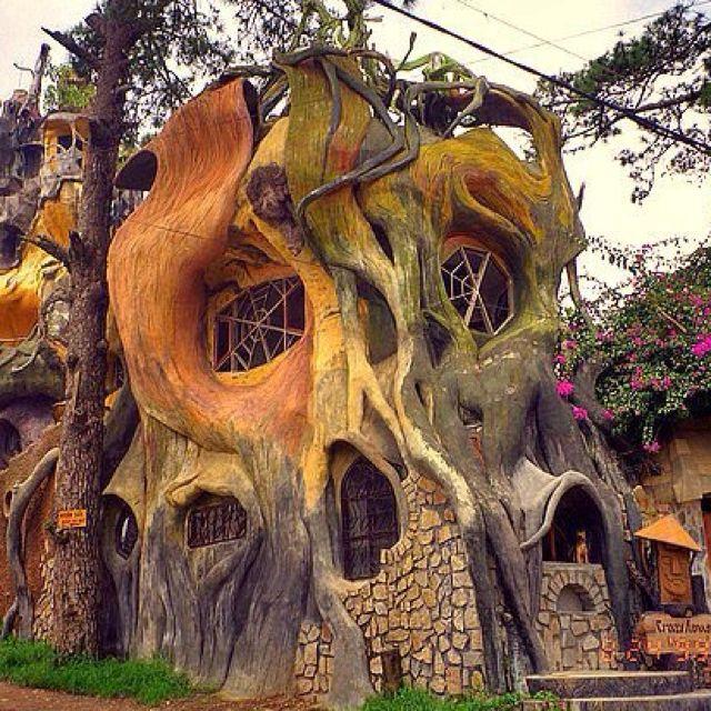 Vietnam Treehouse Part - 25: Treehouse In Vietnam   Thee TREEHOUSE   Pinterest   Treehouse And Vietnam