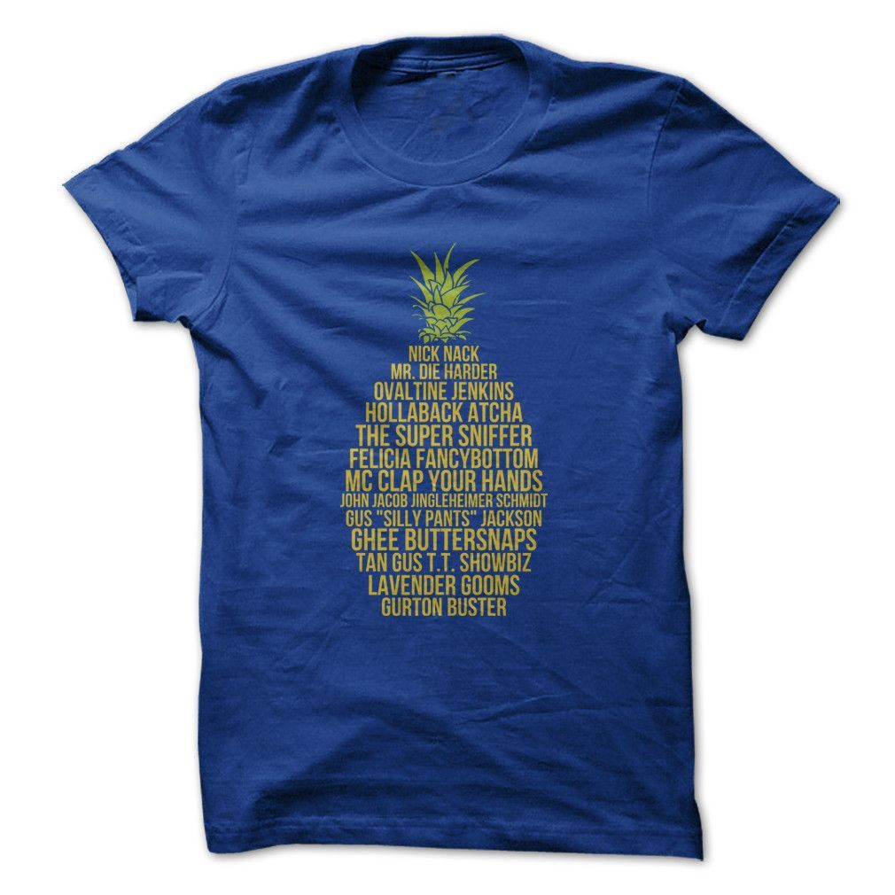 Names Of Gus - T Shirt Shawn And Psych