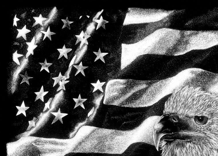 patriotic scratch art | Just plain Cre8ive and Cool ...