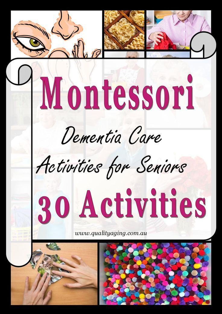 Montessori Activities for Seniors with Dementia -  The Montessori Method for Dementia is an evidence-based intervention that can enrich quality of lif - #activities #Dementia #Montessori #Parentingactivities #Parentingadvice #Parentinghacks #Parentinghumor #Parentingphotography #Parentingquotes #Parentingtips #Parentingtoddlers #Seniors