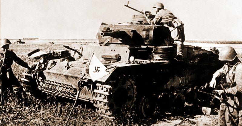 Танковые потери вермахта за первый месяц Великой Отечественной