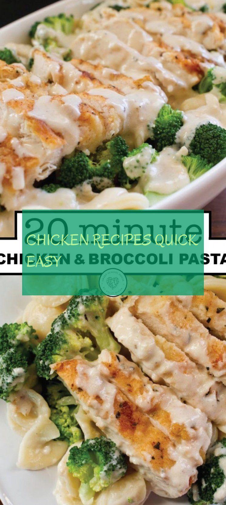 chicken recipes quick easy