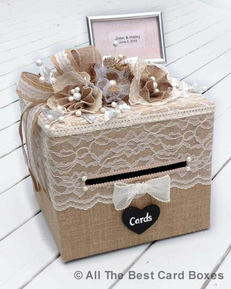 this is awesome countryweddingideas  rustic card box