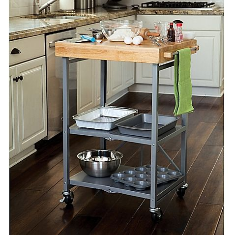 Origami Kitchen Cart in Grey Home things Pinterest Kitchen