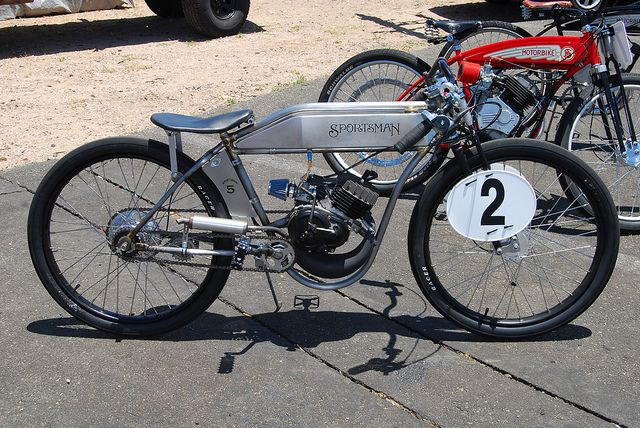 These sportsman bikes are a blast!