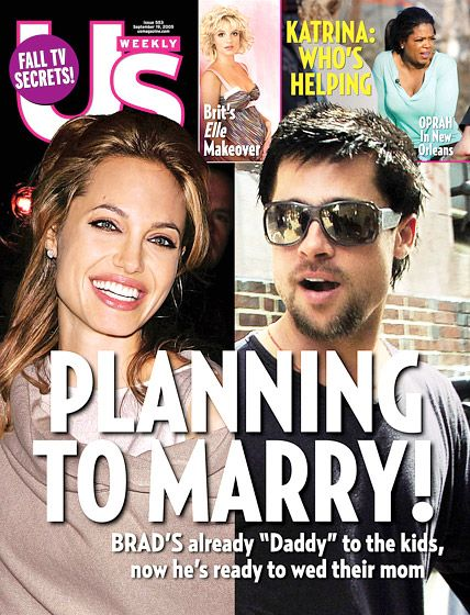 Angelina Jolie\'s Us Weekly Covers | September 19, Angelina jolie and ...