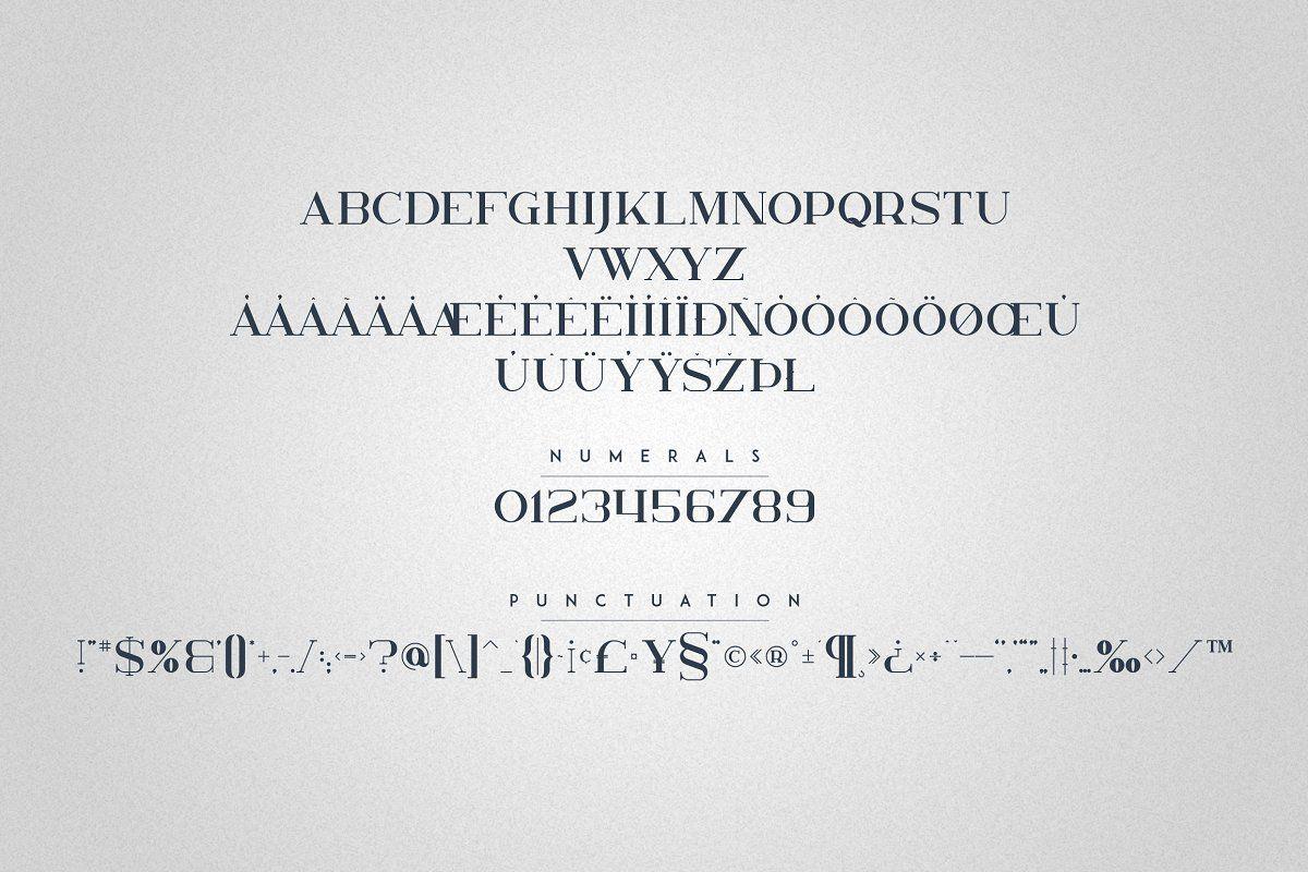Kavo Family 17 Fonts 24 Logos In 2020 Modern Typeface Modern Lettering Logo Templates