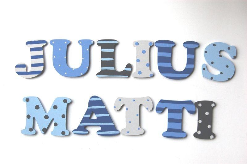 Holzbuchstaben Holzbuchstaben kinderzimmer